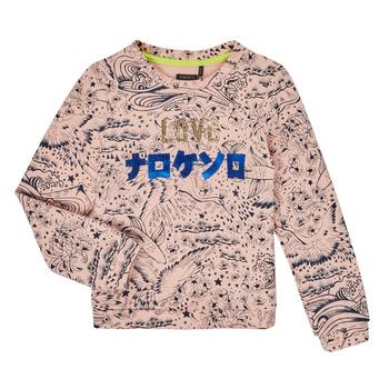 textil Flickor Sweatshirts Ikks XR15022 Rosa