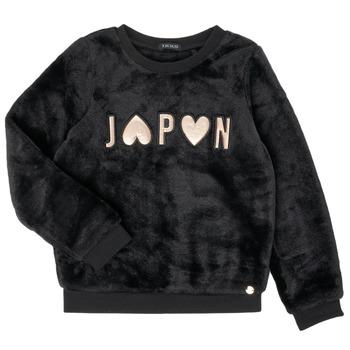 textil Flickor Sweatshirts Ikks XR15042 Svart