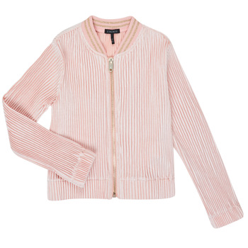 textil Flickor Koftor / Cardigans / Västar Ikks XR17022 Rosa