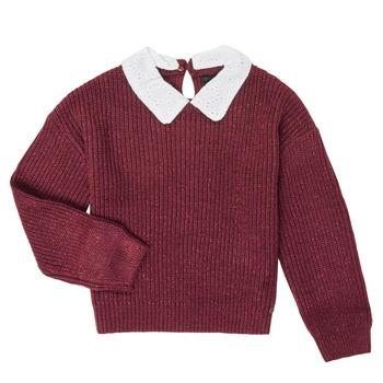 textil Flickor Tröjor Ikks XR18062 Vinröd