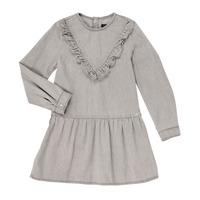 textil Flickor Korta klänningar Ikks XR30022 Grå