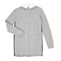 textil Flickor Korta klänningar Ikks XR30082 Grå