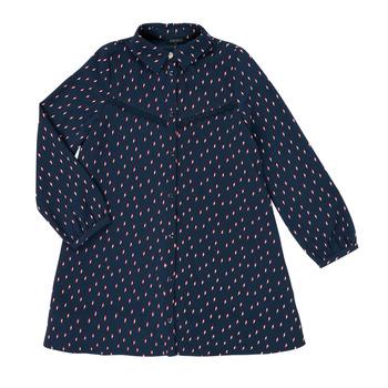 textil Flickor Korta klänningar Ikks XR30152 Blå