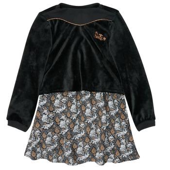 textil Flickor Korta klänningar Ikks XR30162 Svart