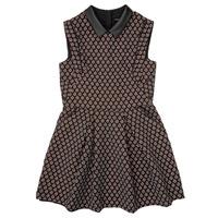 textil Flickor Korta klänningar Ikks XR30212 Svart