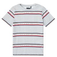 textil Pojkar T-shirts Ikks XR10003 Grå