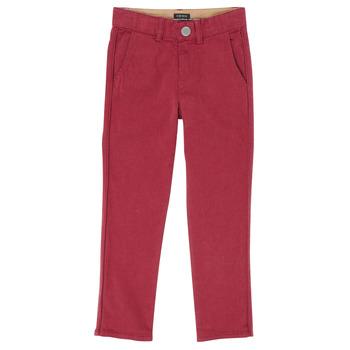 textil Pojkar 5-ficksbyxor Ikks XR22093 Röd