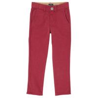 textil Pojkar 5-ficksbyxor Ikks XR22093J Röd