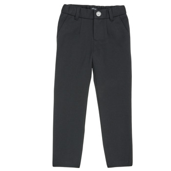 textil Pojkar 5-ficksbyxor Ikks XR23023 Svart