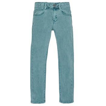 textil Pojkar Stuprörsjeans Ikks XR29013 Grön