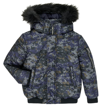 textil Pojkar Täckjackor Ikks XR41133 Blå
