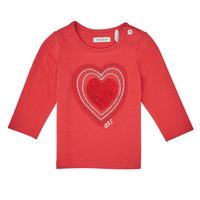 textil Flickor Långärmade T-shirts Ikks XR10010 Orange