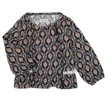 textil Flickor Skjortor / Blusar Ikks XR12020 Svart