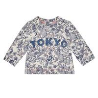 textil Flickor Sweatshirts Ikks XR15020 Vit