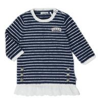 textil Flickor Korta klänningar Ikks XR30030 Vit