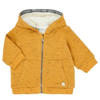textil Pojkar Koftor / Cardigans / Västar Ikks XR17031 Gul