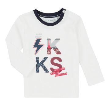 textil Pojkar Set Ikks XR36001 Vit