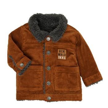 textil Pojkar Vindjackor Ikks XR40051 Brun