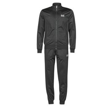 textil Herr Sportoverall Emporio Armani EA7 TRAIN CORE ID M T-SUIT TT FZ CH PL Svart