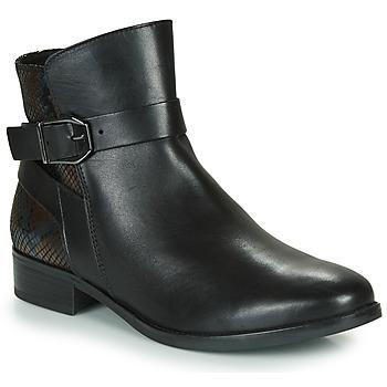 Skor Dam Boots Caprice 25331-045 Svart