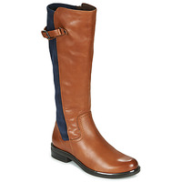Skor Dam Stövlar Caprice 25504-387 Cognac / Blå