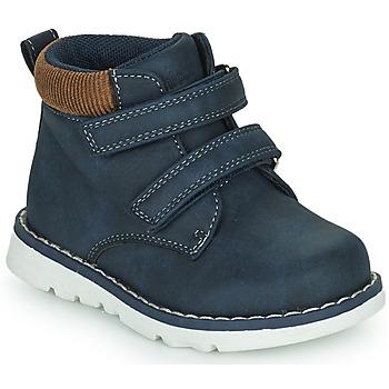 Skor Pojkar Höga sneakers Chicco FLOK Blå
