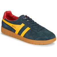 Skor Herr Sneakers Gola HURRICANE Marin / Gul