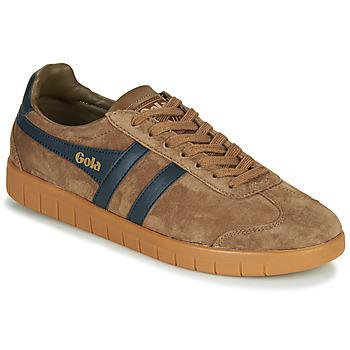 Skor Herr Sneakers Gola HURRICANE Brun / Marin