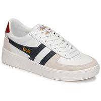Skor Herr Sneakers Gola GRANDSLAM CLASSIC Vit / Marin
