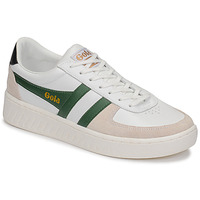 Skor Herr Sneakers Gola GRANDSLAM CLASSIC Vit / Grön