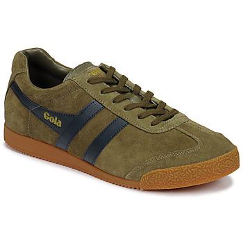 Skor Herr Sneakers Gola HARRIER Kaki / Marin