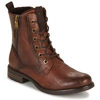 Skor Dam Boots Tom Tailor 93303-COGNAC Cognac
