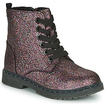 Skor Flickor Boots Tom Tailor 71004-VIOLET-C Violett