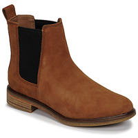Skor Dam Boots Clarks CLARKDALE ARLO Kamel