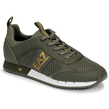 Skor Herr Sneakers Emporio Armani EA7  Kaki