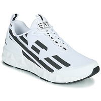 Skor Herr Sneakers Emporio Armani EA7 XCC52 Vit / Svart