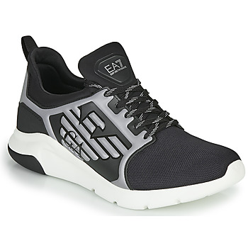 Skor Herr Sneakers Emporio Armani EA7 XCC55 Svart