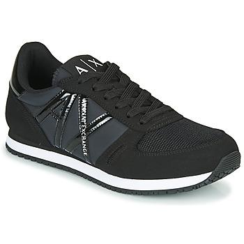 Skor Dam Sneakers Armani Exchange XCC62-XDX031 Svart