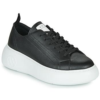 Skor Dam Sneakers Armani Exchange XCC64-XDX043 Svart