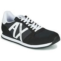 Skor Herr Sneakers Armani Exchange XCC68-XUX017 Svart