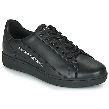 Skor Herr Sneakers Armani Exchange  Svart