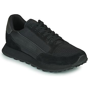 Skor Herr Sneakers Armani Exchange XV263-XUX083 Svart