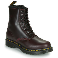 Skor Dam Boots Dr Martens 1460 SERENA Bordeaux