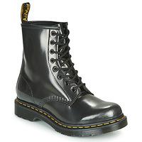 Skor Dam Boots Dr Martens 1460 W Silver