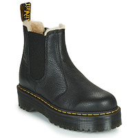 Skor Dam Boots Dr Martens 2976 QUAD FL Svart