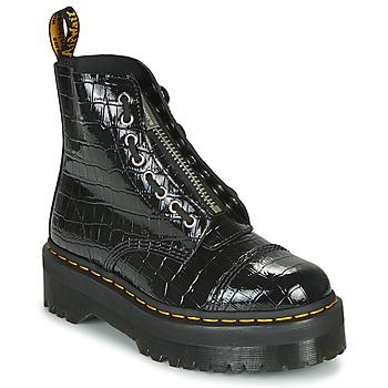 Skor Dam Boots Dr Martens SINCLAIR Svart / Krokodil