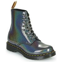 Skor Dam Boots Dr Martens VEGAN 1460 PASCAL Silver