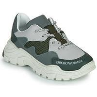 Skor Barn Sneakers Emporio Armani XYX008-XOI34 Grön / Grå