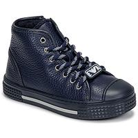 Skor Barn Höga sneakers Emporio Armani XYZ004-XOI25 Marin