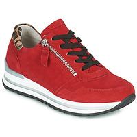 Skor Dam Sneakers Gabor 5652838 Röd